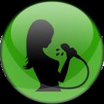 docuhe-girl-groen-icoon-ron